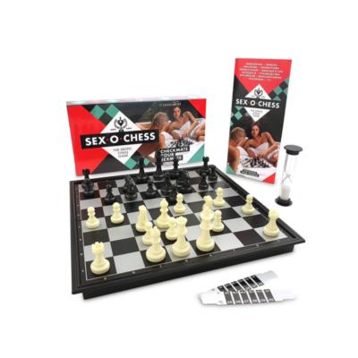 jeu d'échecs sexy Sex-O-Chess marque Sexventures